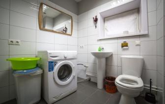 Хостел в г. Иркутске, 1 этаж санузел, ванна