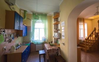 Хостел в г. Иркутске, кухня